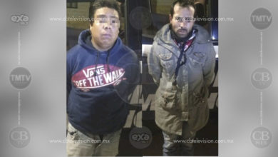 Detienen dos motociclistas que escondían pistola y varios cartuchos