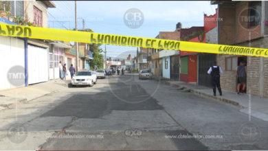 Ejecutan a balazos a un joven en pleno centro de Jacona