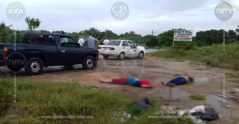 Encuentran a dos baleados en plena carretera Acapulco-Zihuatanejo