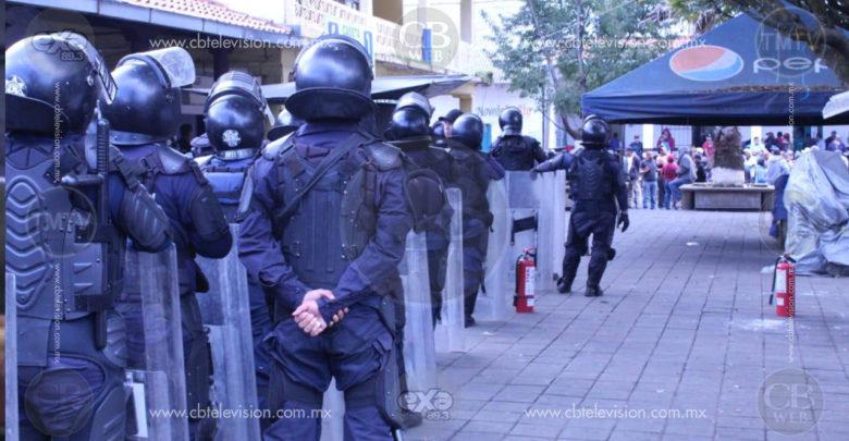 Ingresa Policía Michoacán a Nahuatzen