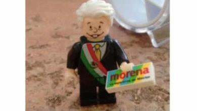 Lanzan al mercado AMLO versión Lego