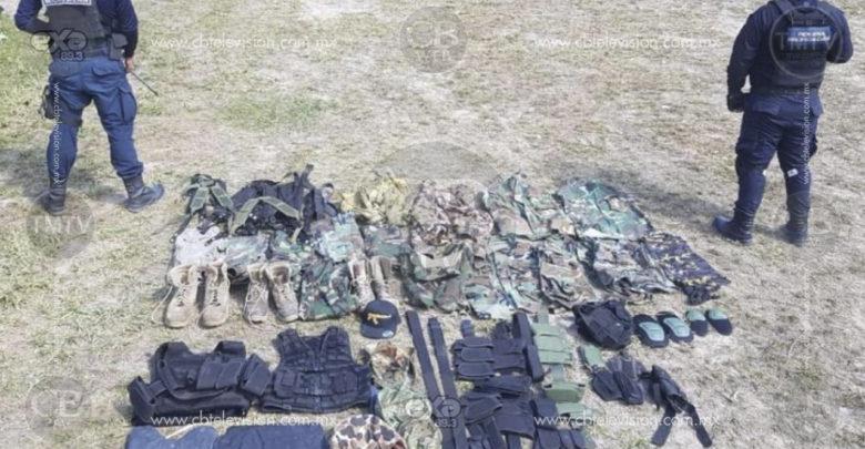 Localizan y destruyen narcocampamento en cerro de Zinapécuaro, hay un joven de 16 años detenido
