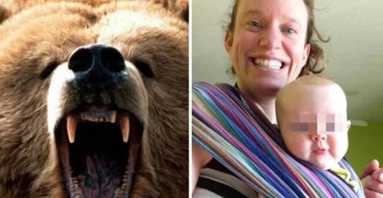 Mientras un hombre cazaba osos, uno de ellos mató a su esposa y a su bebé