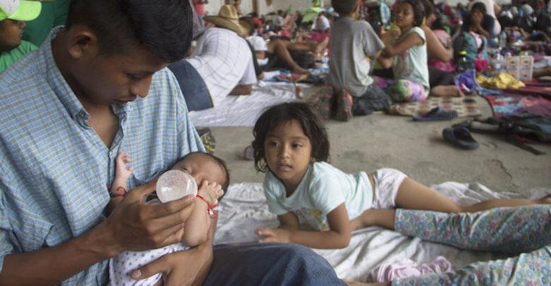 Nace bebé de padres que se encontraban en caravana de migrantes en Oaxaca