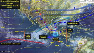 Pronóstico meteorológico del Estado de Michoacán