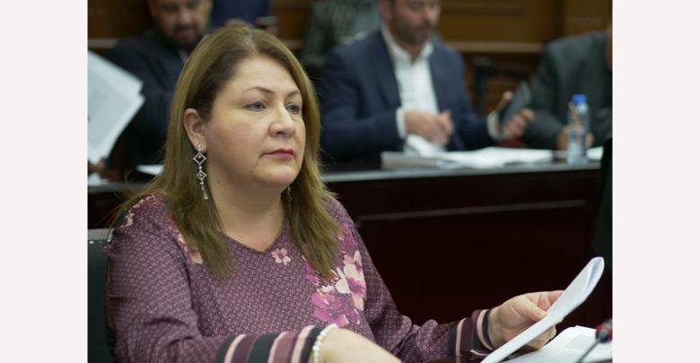 Quebrado Michoacán por sueldos altos del gobierno silvanista: Cristina Portillo