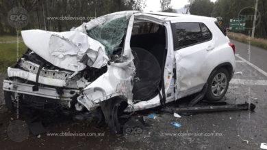 Se registran accidentes vehiculares sobre la carretera Morelia-Pátzcuaro