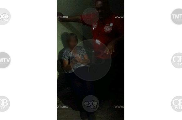 Sujeto ebrio que golpeó a su propia madre fue detenido en Apatzingán