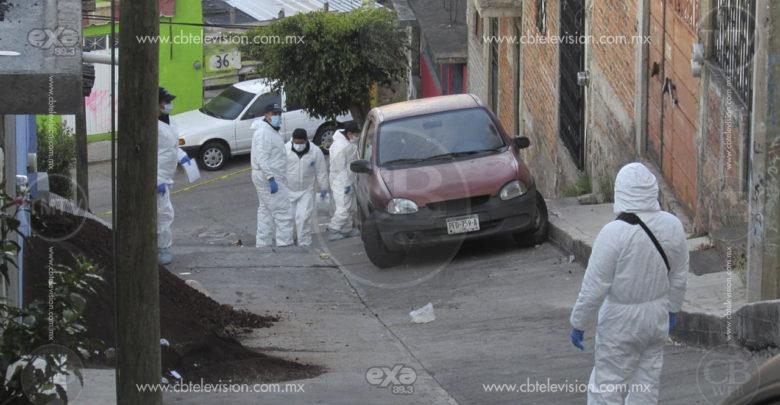 Tras riña y por impacto de bala perdida matan a adulto mayor en colonia de Morelia