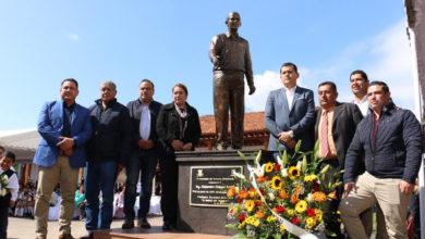 Víctor Manríquez reconoce legado de Alejandro Chávez para el desarrollo de Taretán