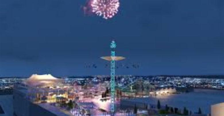 Video: Abren parque de diversiones ubicado una azotea de la CDMX