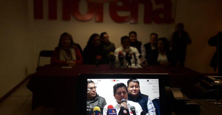 Cede Roberto Pantoja dirigencia de Morena