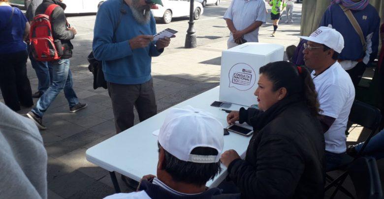 30 casillas instaladas en Michoacán para segunda Consulta Nacional: 9 en Morelia