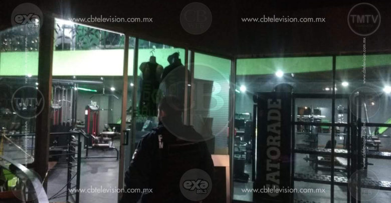 Sujetos armados ingresan al Cross Box Gym ubicado en Morelia