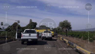 Delincuentes realizan bloqueos carreteros en Apatzingán y Buenavista