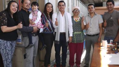 Acude Óscar Escobar a emitir su voto por la dirigencia estatal del PAN