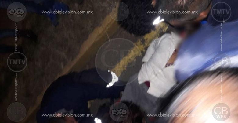 Adulta mayor queda herida tras accidente automovilístico en Zitácuaro