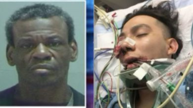 'Estoy aquí para matar a un mexicano' gritó y empezó a golpear a un padre y a su hijo con una barra de metal
