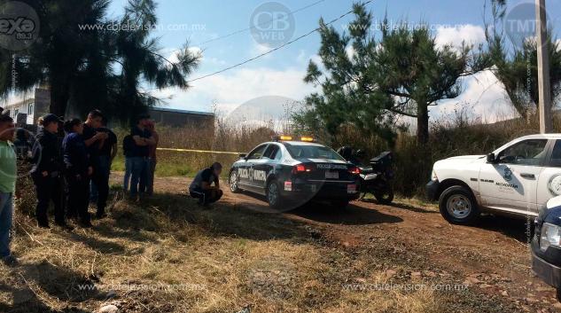 Un muerto a balazos al norte de Morelia