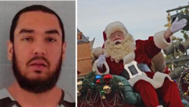 Arrestan a sujeto afuera de iglesia; gritaba a niños que Santa no es real