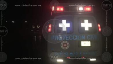 Motociclista pierde la vida al derrapar su unidad