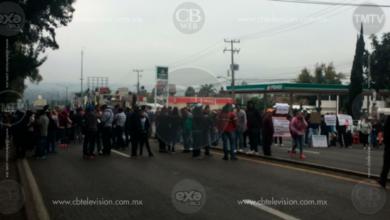 Presencia de docentes en varios puntos de Michoacán