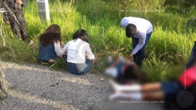Cinco estudiantes lesionados por accidente vial
