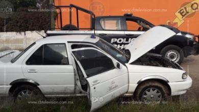Policía de Tarímbaro recupera taxi robado