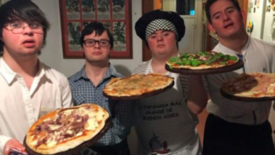 Jóvenes con Síndrome de Down abren su propia pizzería