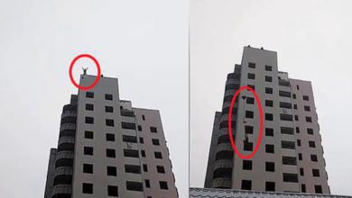 Adolescente muere al arrojarse de edificio con paracaídas casero