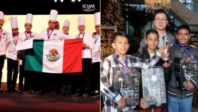 Estudiantes mexicanos ganan premios en robótica y gastronomía en Luxemburgo y Shanghái