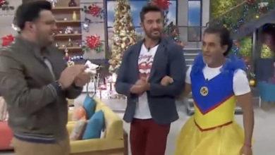 Conductor de Televisa pierde apuesta y se vuelve blanco de burlas