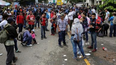 Exige caravana migrante 50 mil dólares a cada uno para regresar a su país