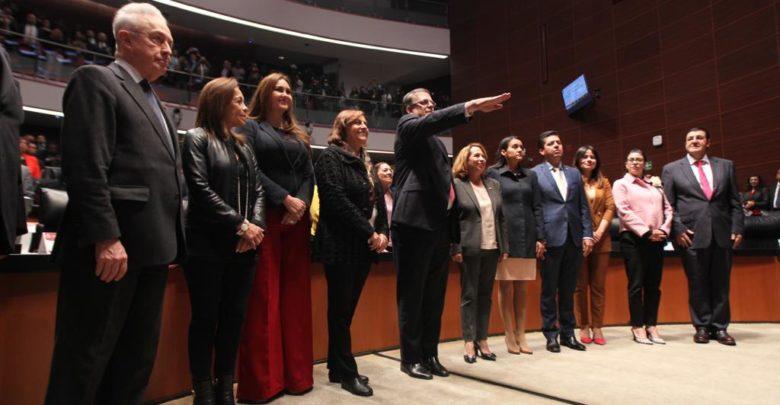 Senado de la República ratifica el nombramiento de Marcelo Ebrard Casaubón como Secretario de Relaciones Exteriores