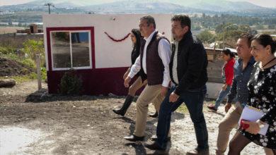 Gobierno de Morelia realiza primera entrega de recámaras adicionales en la Aldea