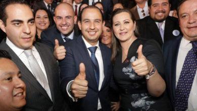 Martha Érika Alonso tendrá la visión para lograr un Puebla unido: Marko Cortés