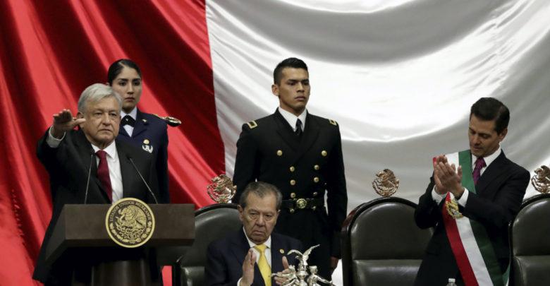 Oficial: AMLO rinde protesta como presidente de México