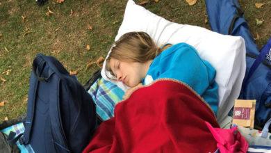 Por enfermedad ella duerme hasta 20 horas al día y no lo puede evitar