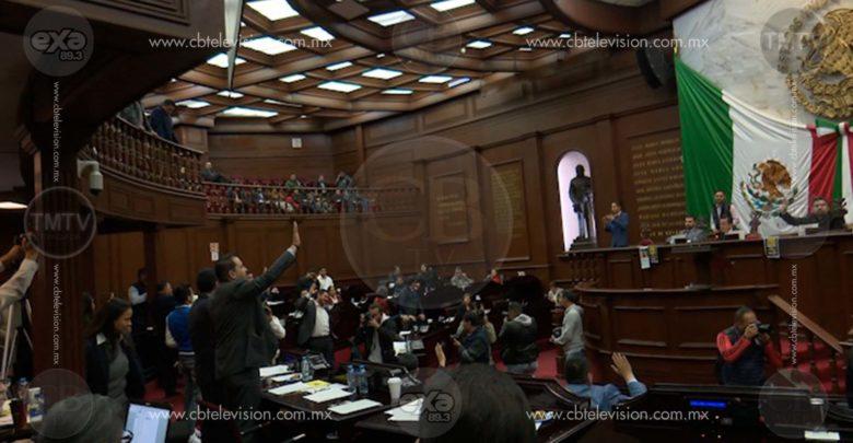"""Aprueba Congreso """"presupuesto impuesto"""", acusa Morena"""