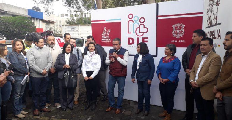 El Ayuntamiento de Morelia, a través del programa Cobijemos
