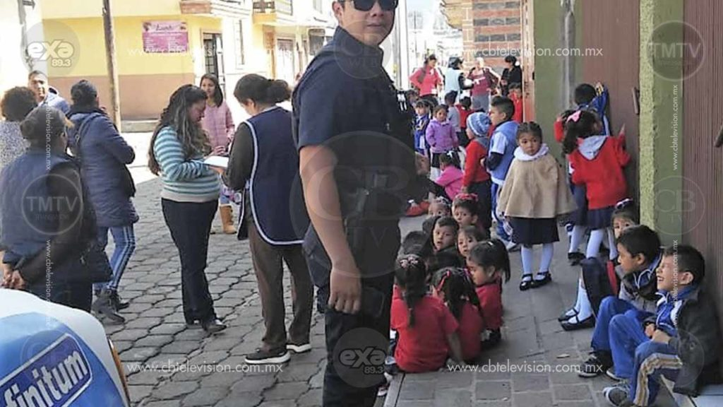 Evacúan kínder, por fuga de gas en Paracho