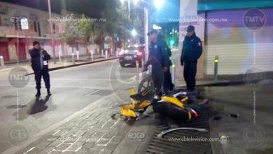 Terrible accidente en Revolución y Santos Degollado en Zitácuaro