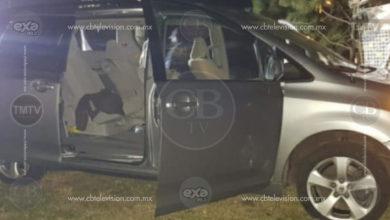 Policías y presuntos robacarros se enfrentan a balazos en Zacapu