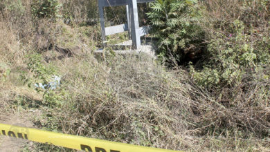 Hallan cuerpo humano putrefacto en Uruapan