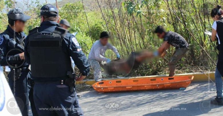 Con huellas de tortura abandonan cadáver en Tezoyuca