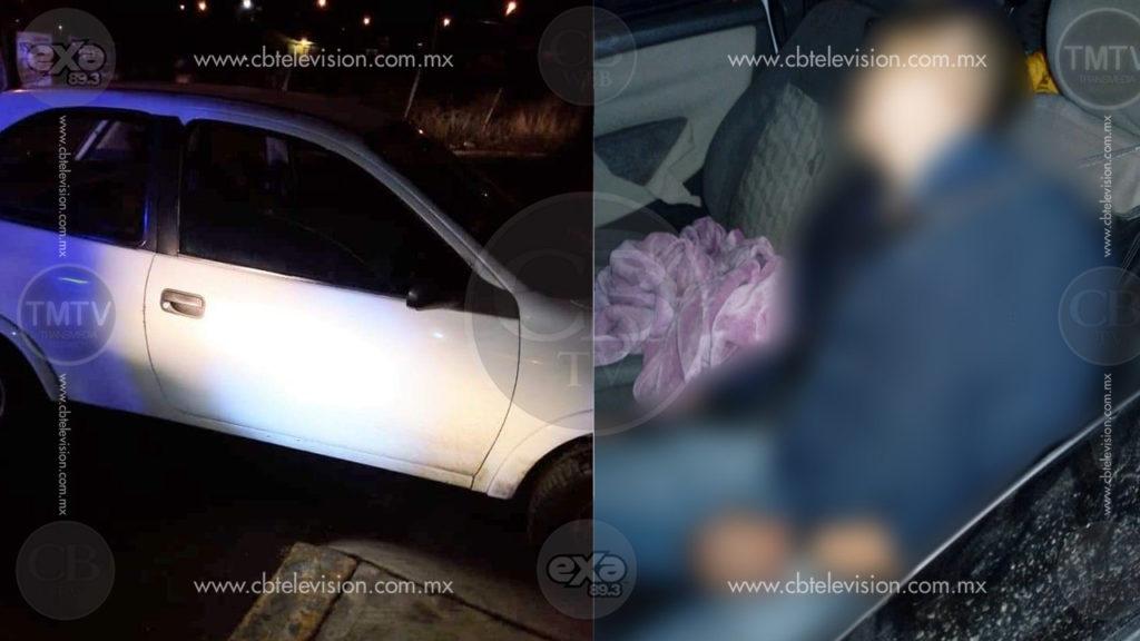 Asesinan a balazos a automovilista en Metrópolis 2