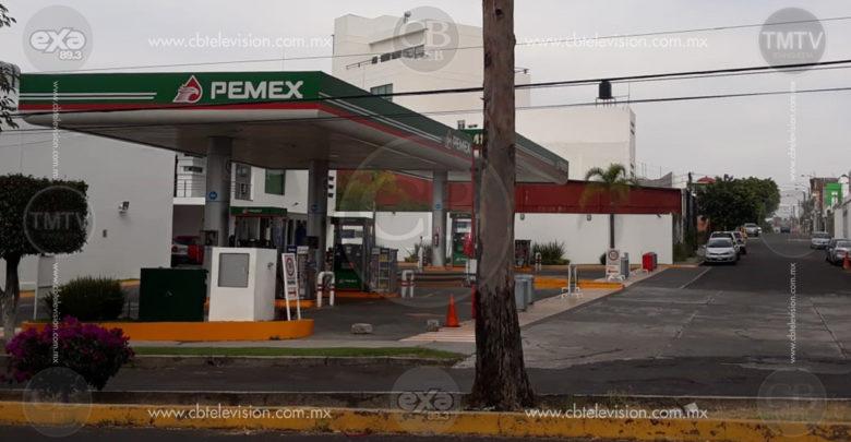 Morelia sin gasolina