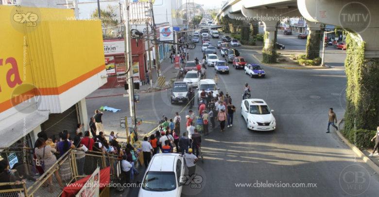 Anciana muere atropellada por camión de pasajeros en Morelos