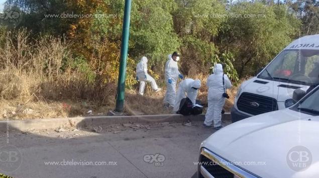 Son de una mujer, los restos hallados dentro de maleta en Morelia