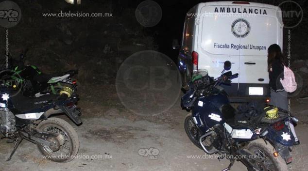 Motociclista es ultimado a balazos en Uruapan
